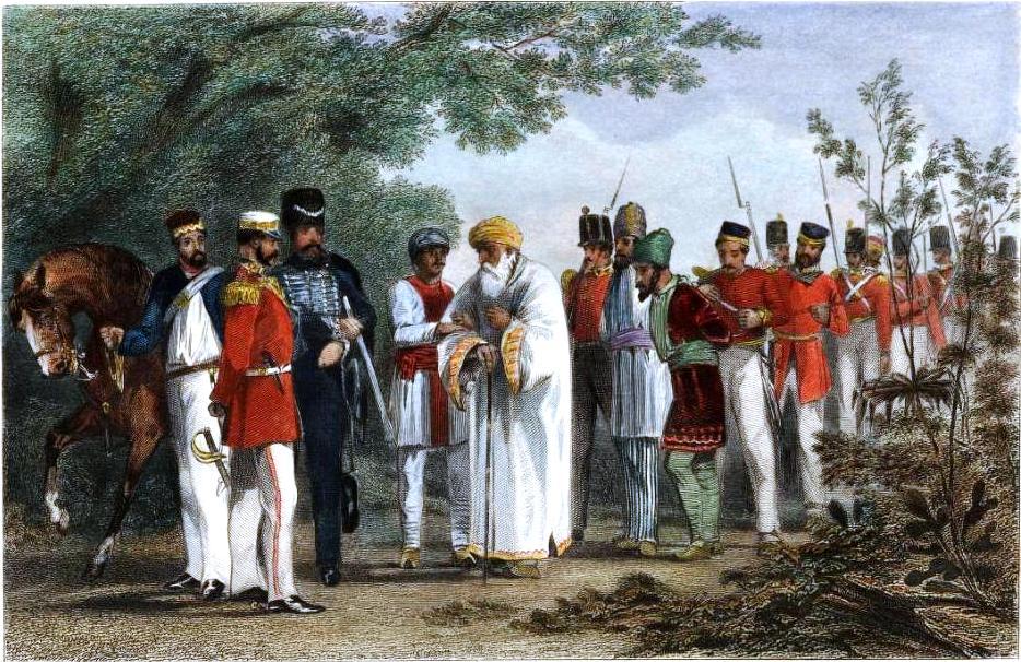 Capture of Bahadur Shah Zafar II