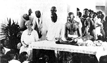 Ida Scudder and Gandhi
