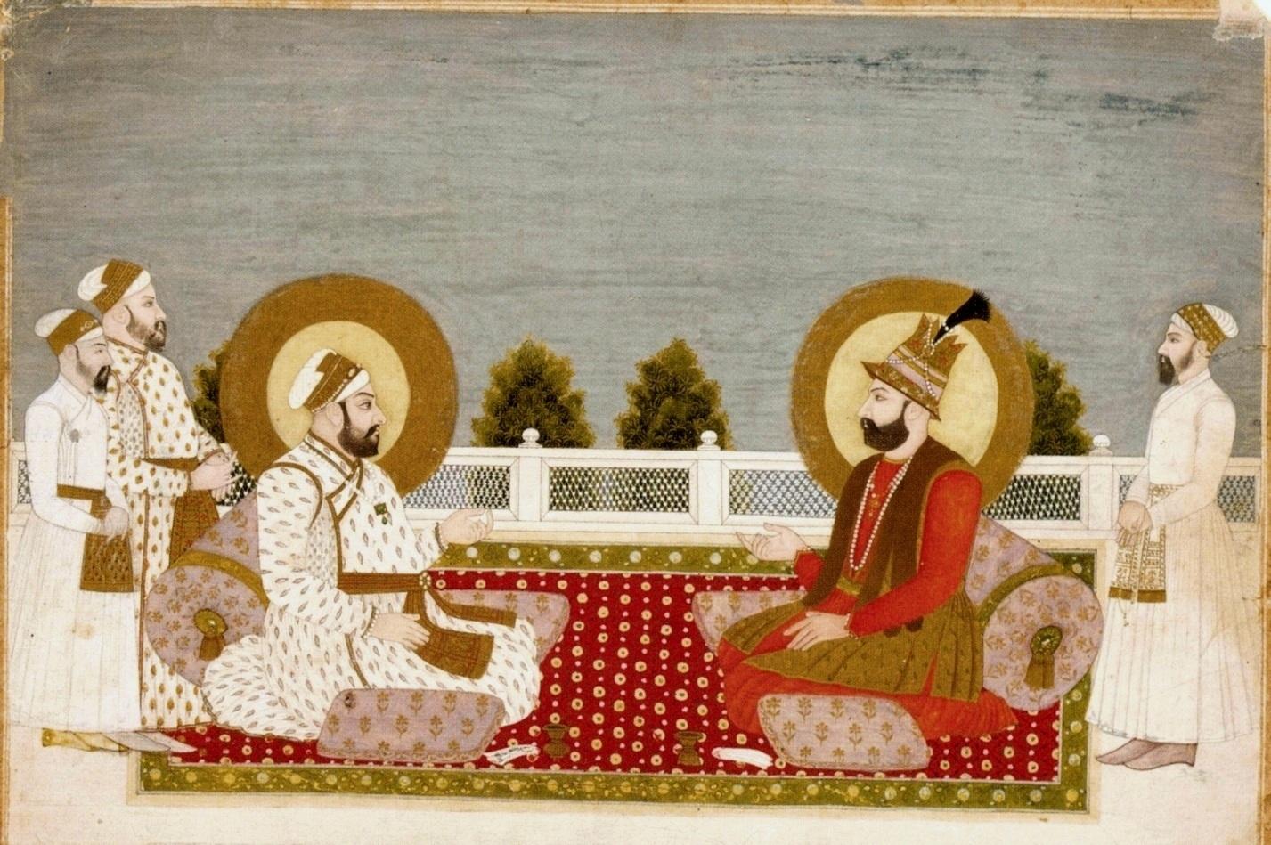 Muhammad Shah Rangila and Nader Shah