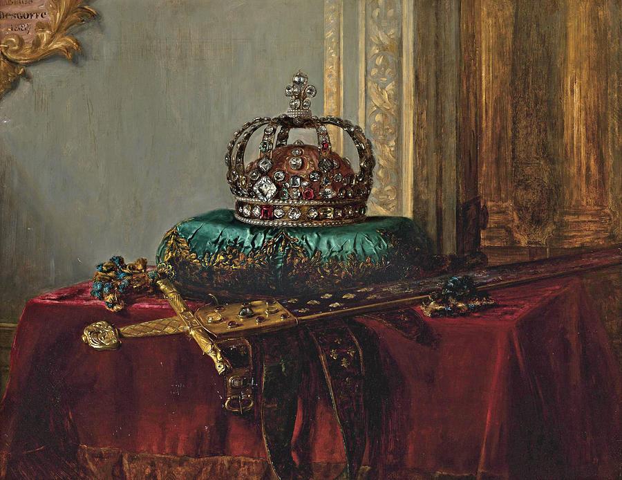 The-crown-jewels-blaise-alexandre-desgoffe
