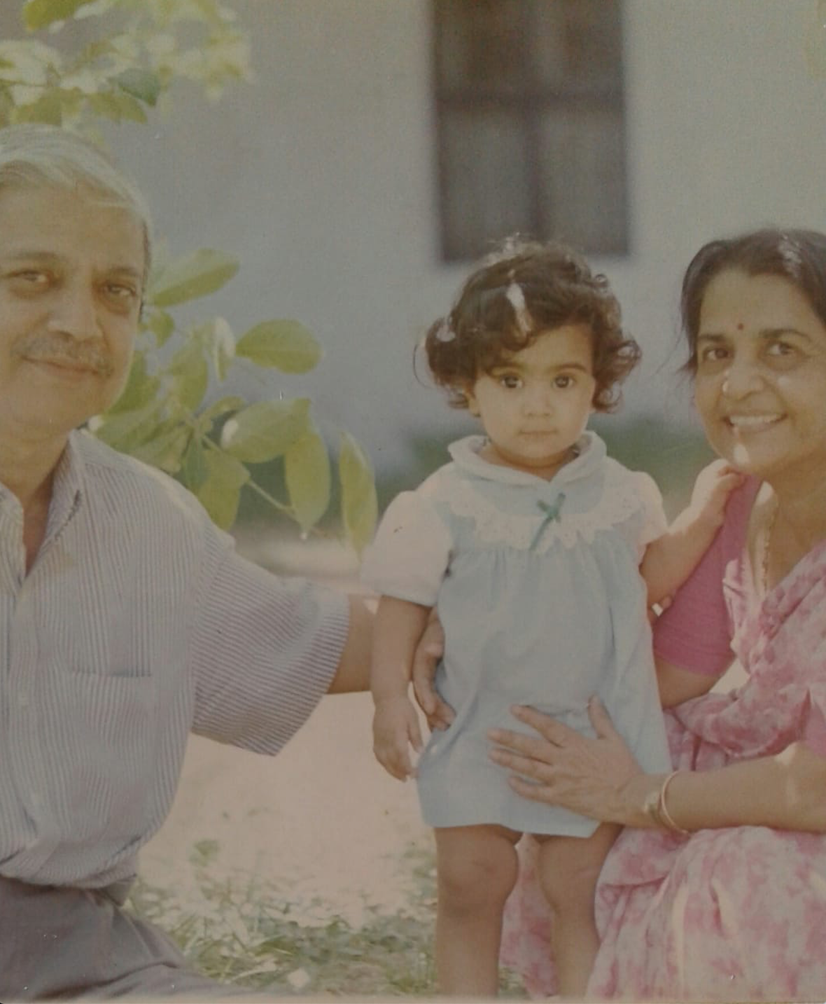 Little me with my grandparents